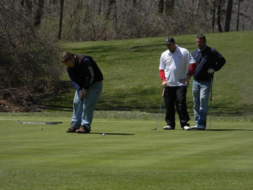 Dave Trier, Bob Spino, Dan Marr April 2014 Fairways at Twin Lakes 2-M Scramble