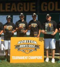Cleveland State Men's Golf 2016 Horizon League Champs