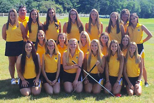2016 Medina Bees Girls High School Golf Team