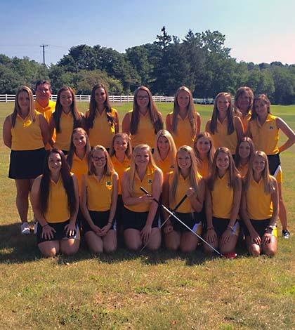 2016 Medina Girls High School Golf Team