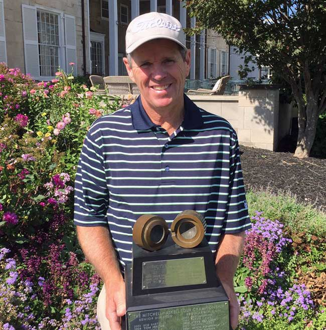Gary Robison, 2016 NOPGA Senior Tour Championship Winner