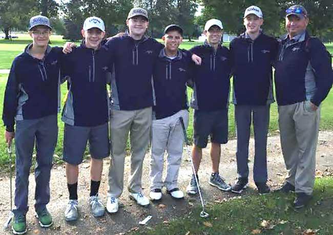 2016 Brookfield Boys High School Golf Team
