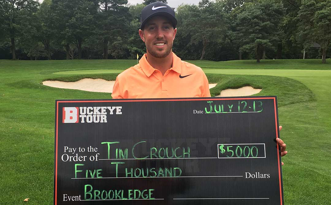 Tim Crouch Buckeye Tour Brookledge Classic