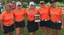 2017 Walsh Invitational Champs Girls HS Golf