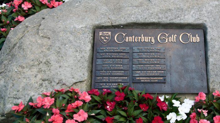 Canterbury Golf Club Rock of Championships
