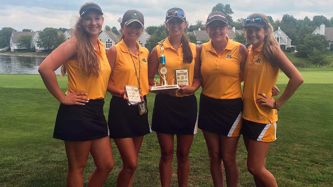 Medina Girls High School Golf Team 2017 Twinsburg Invitational Champions