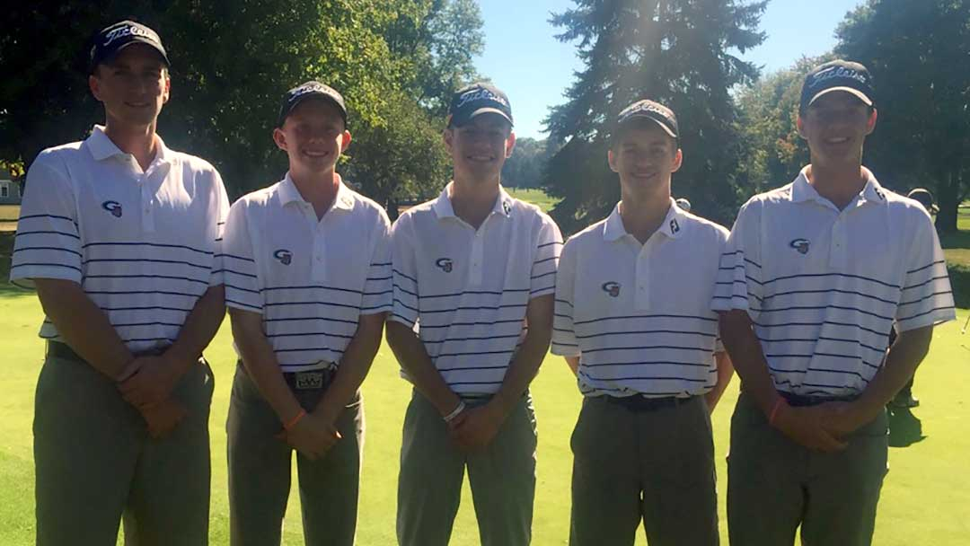 The Green Boys Golf Team