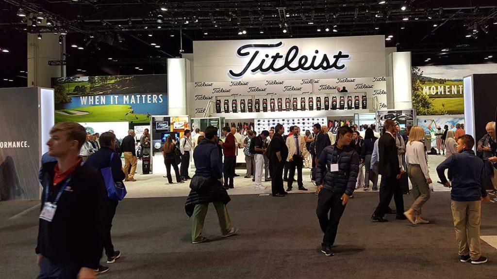 Titleist Booth 2018 PGA Show