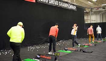 Long Drive Contest Cleveland Golf Show