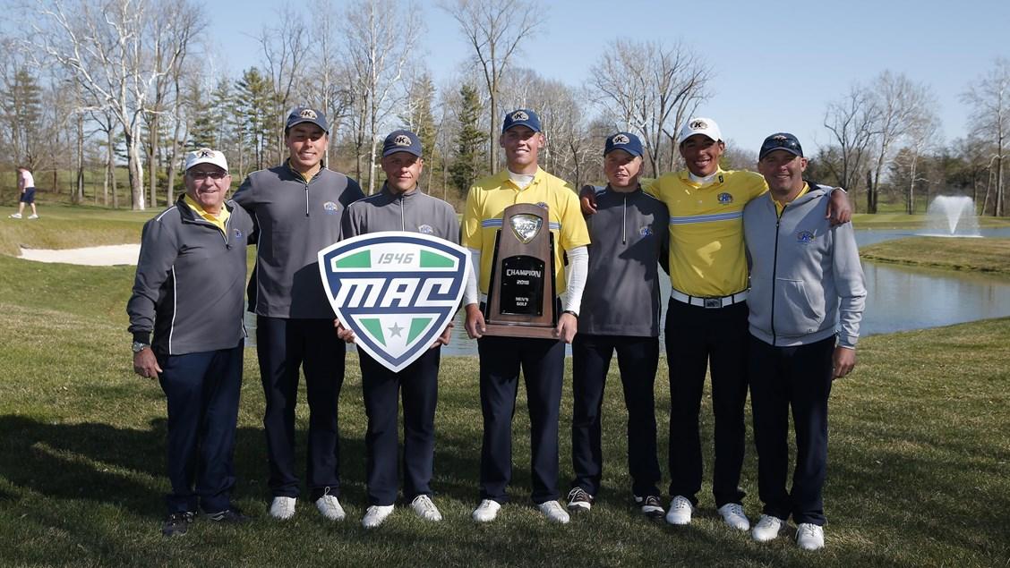 2018 Kent State Men's Golf MAC Champions