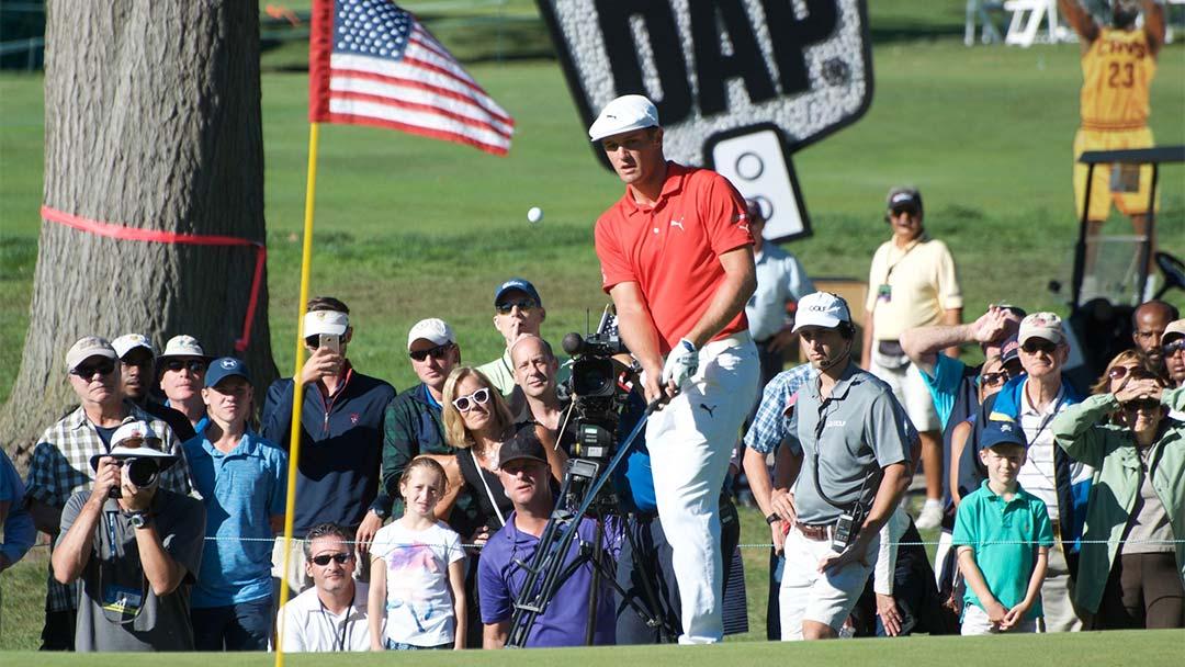2016 DAP Championship winner Bryson DeChambeau at Canterbury Golf Club, Cleveland OH