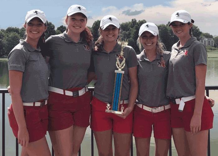 2018 Kent Roosevelt Girls, Lady Explorer Invitational champs