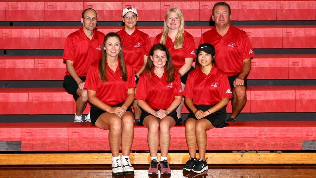 2018 Lutheran West Girls Golf Team