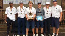 Hoban Boys Golf Team, winners of the 2018 Wooster Generals Cup