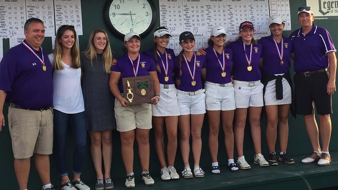 2018 Massillon Jackson Girls Golf Team