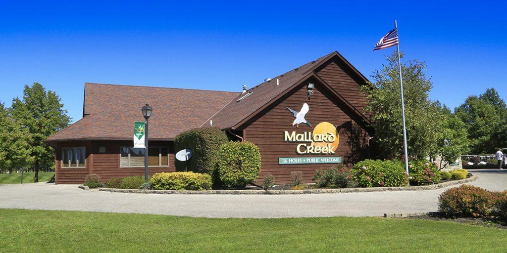 The clubhouse at Mallard Creek Golf Club