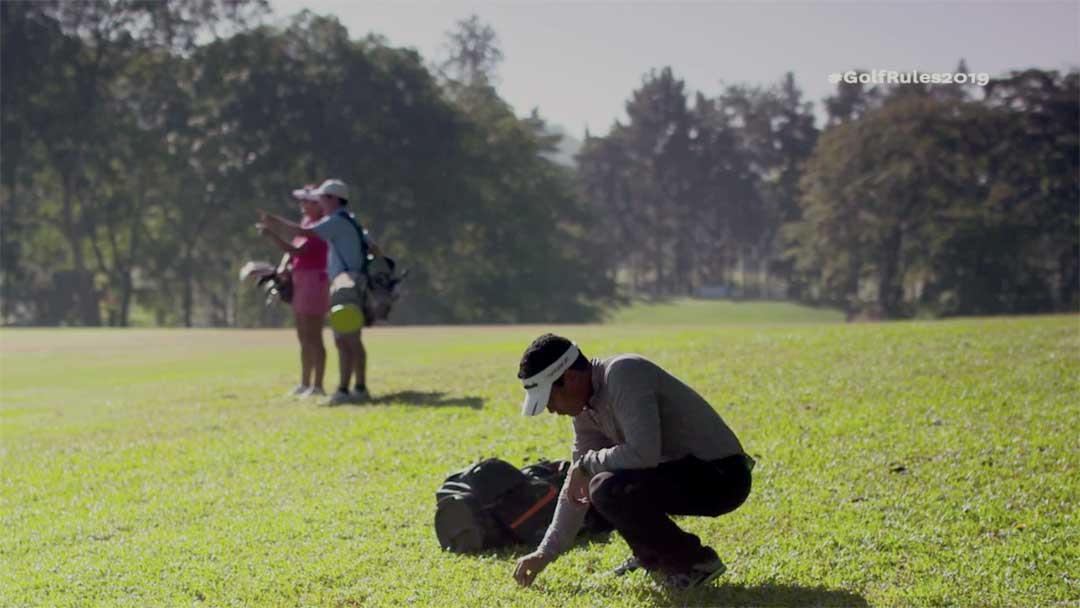 2019 Rules of Golf - Identify Golf Ball