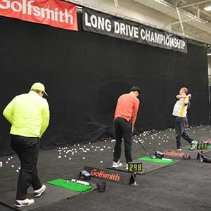 Long Drive Championship - Cleveland Golf Show