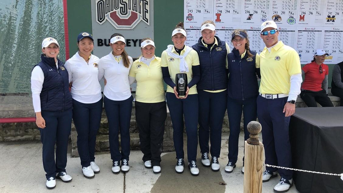 Kent State Women's Golf Team 2019 Lady Buckeye Invitational