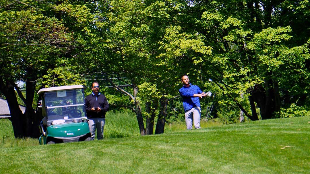 Brian Smith and Jim Krivanek captured the NOGA AA Four-Ball at Sand Ridge.