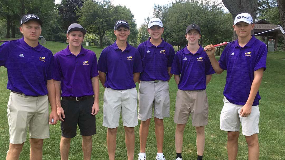 2019 Avon Boys Golf Team