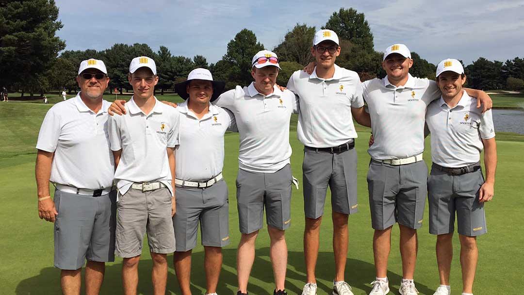 2019 Wooster Mens Golf Team