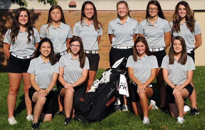 2019 Canton Hoover Girls Golf Team