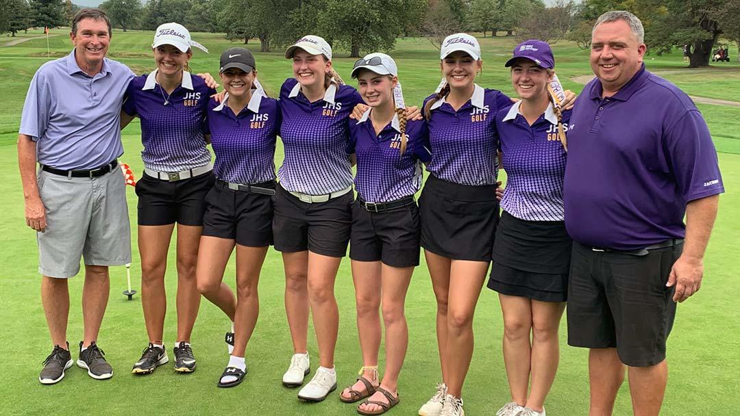 2019 Massillon Jackson Girls Golf team, Sectional Champs