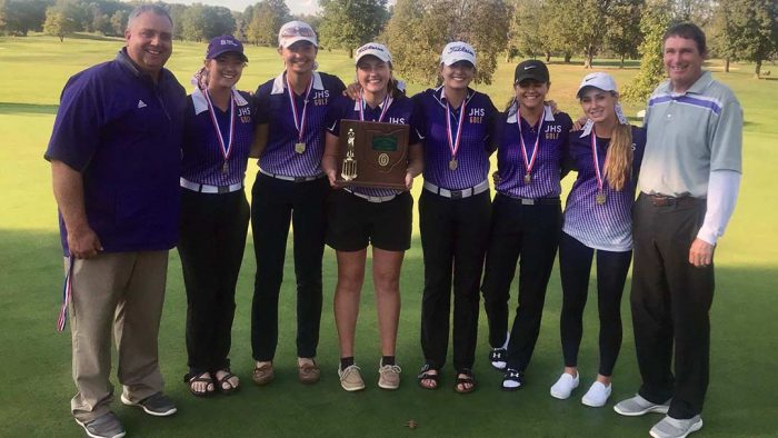 2019 Massillon Jackson Girls Golf Team, District Champions