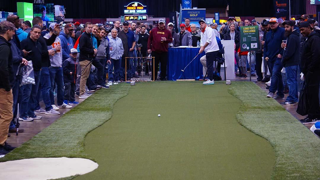 2020 Cleveland Golf Show Long Putt contest