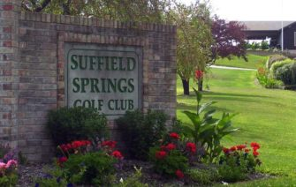 Suffield Springs Golf Club entrance