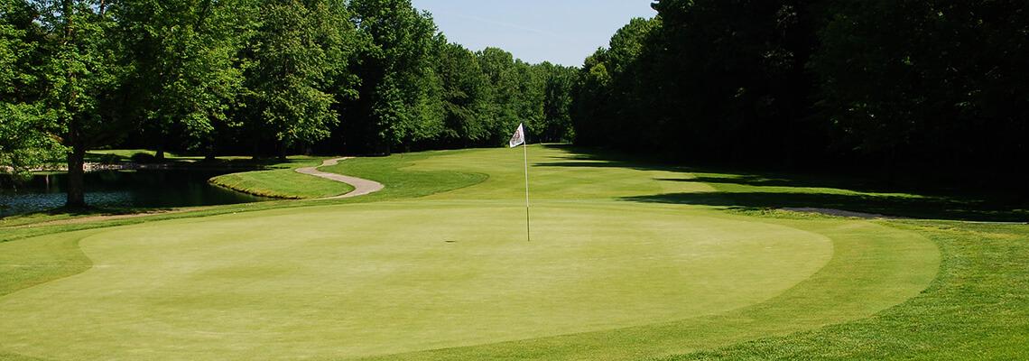 The 7th Hole at Windmill Lakes Golf Club Ravenna