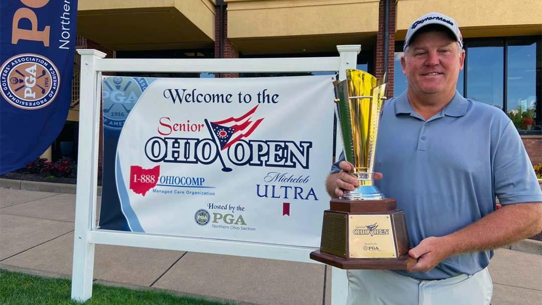 Bob Sowards, 2020 Ohio Senior Open Champion