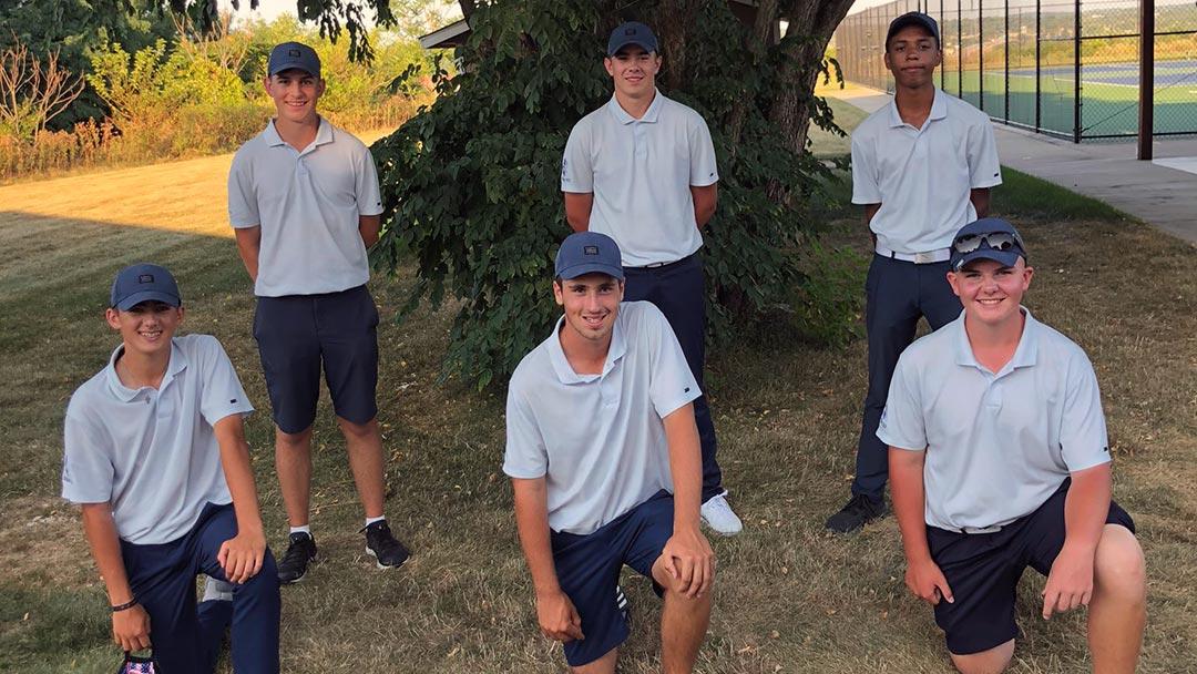 2020 Hoban Boys Golf Team, University School Invitational Champs