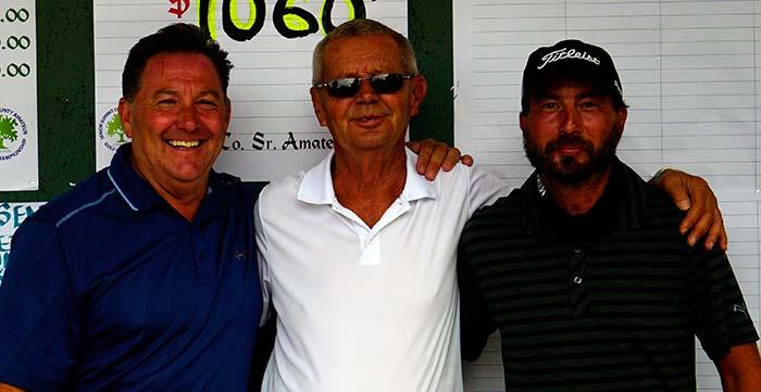 Doug Flemming, Larry Zimmerman, Dante D'Andrea