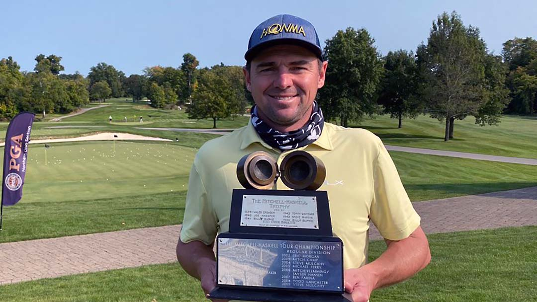 Jim Troy, 2020 NOPGA Mitchell Haskell Tour Championship winner