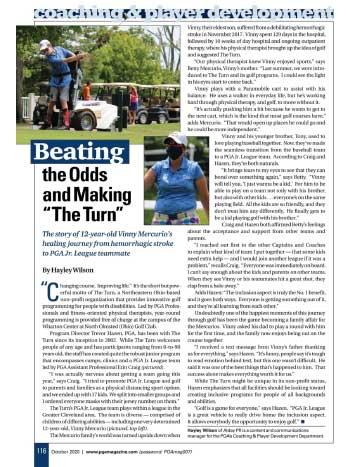 PGA Magazine October 2020