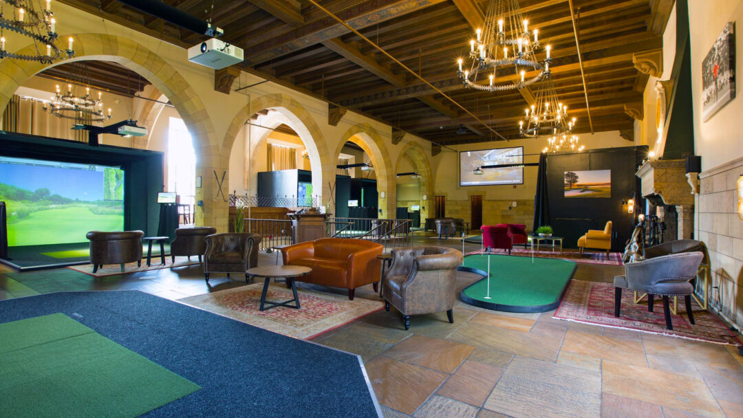 Proximity Golf Lounge wide shot