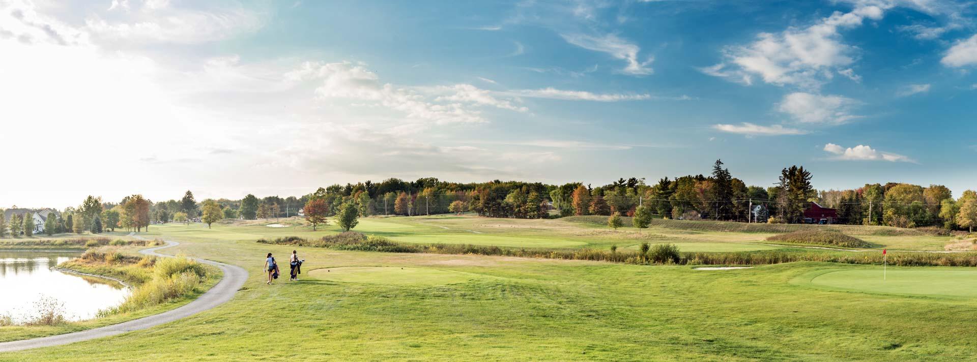 A panoramic of Briarwood Golf Club, Broadview Heights Ohio