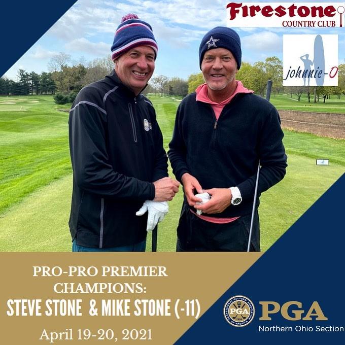2021 NOPGA Pro-Pro Premier champs Mike & Steve Stone