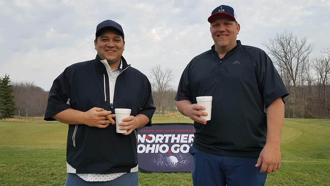 Zach Chinn and Nathan Jensen, 2021 NOHIO.GOLF Quarry Scramble T1