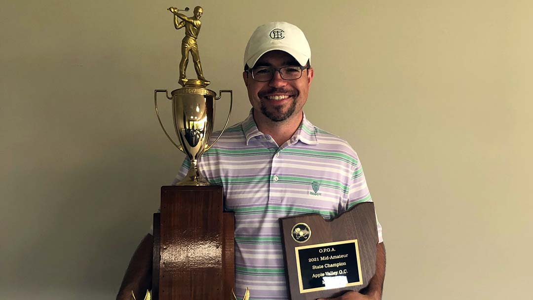 2021 OPGA Mid-Amateur Champion Grant Gates
