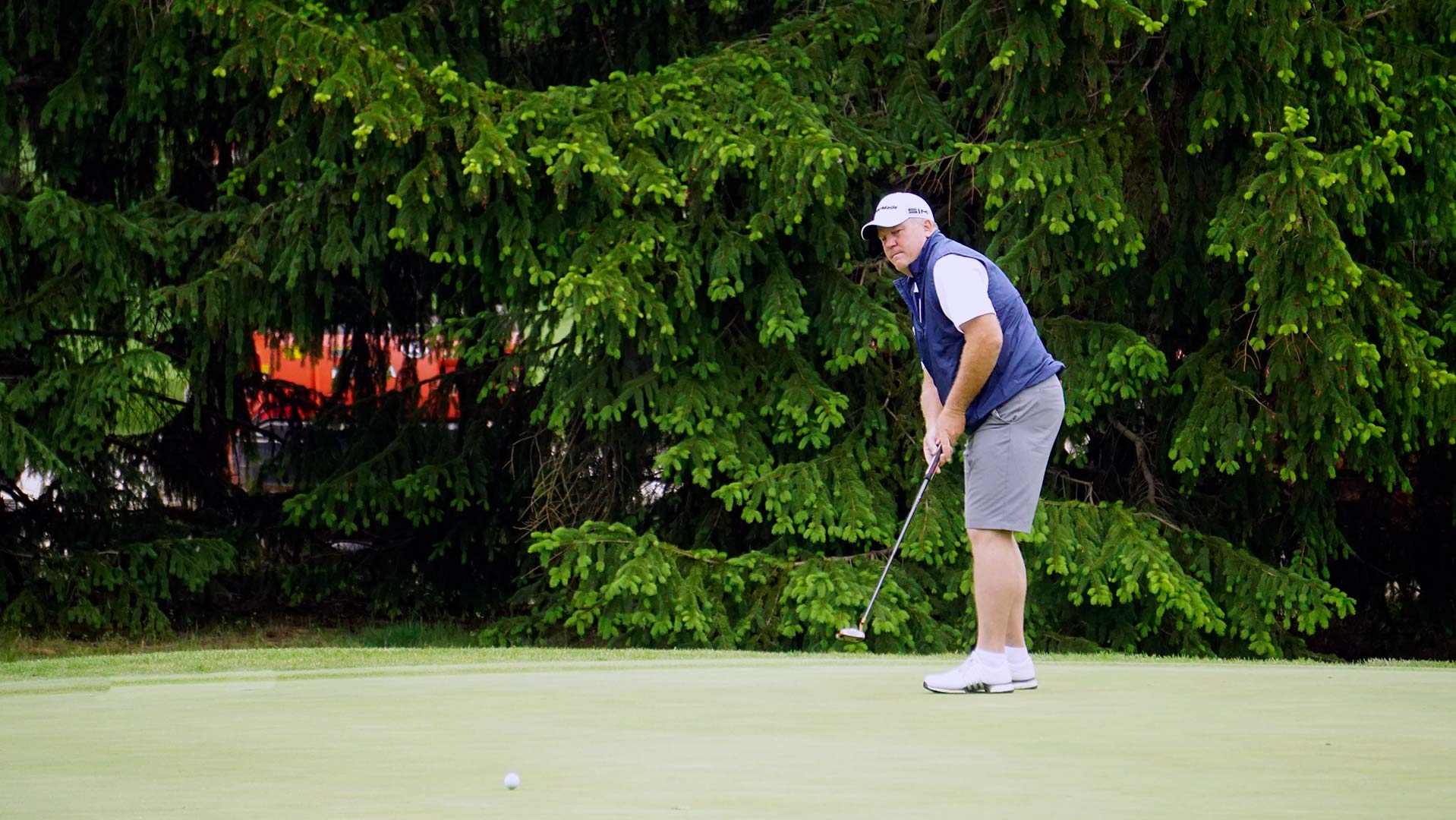 Bob Sowards, 2021 Ohio Senior Open Rd 1