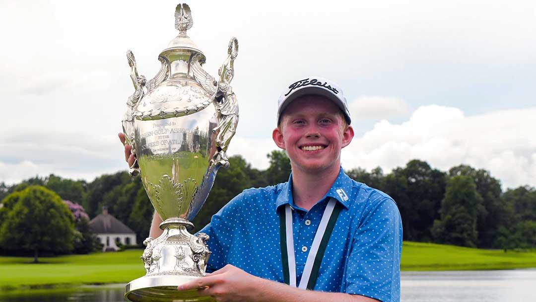 Maxwell Moldovan, 2021 Southern Am champion