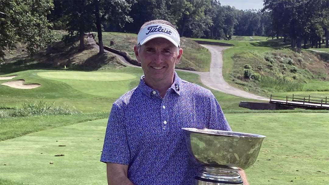 Bill Williamson, 2021 OGA Ohio Mid-Amateur Champion