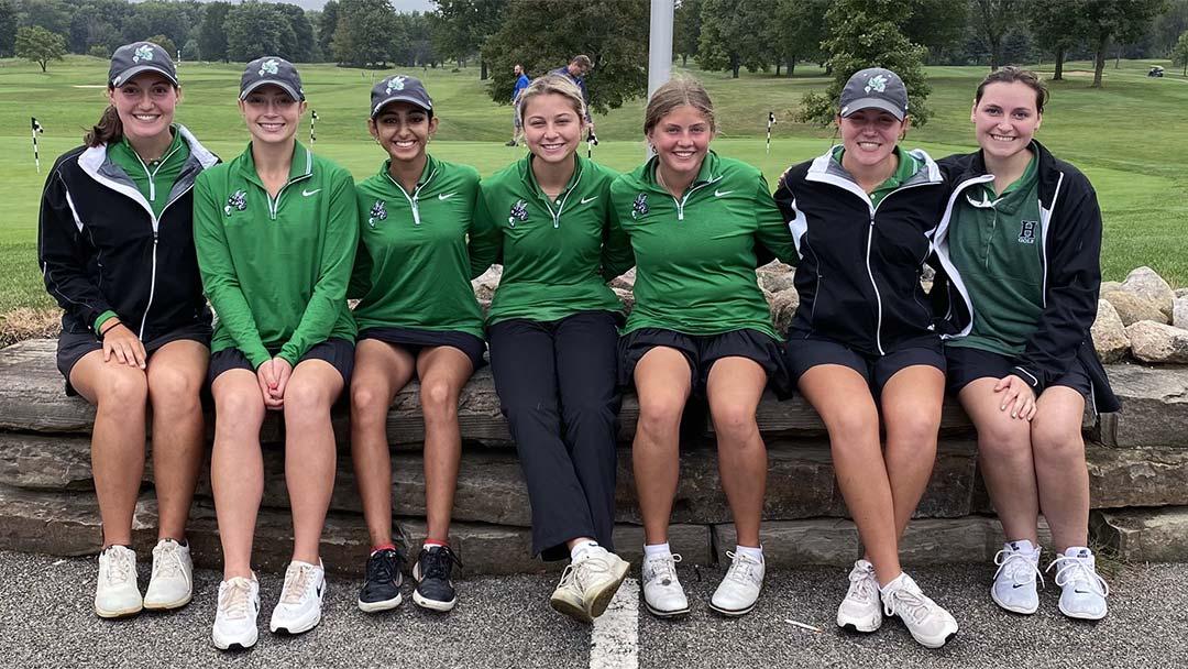 Highland Girls Golf Team, 2021 Suburban Conference American Champions
