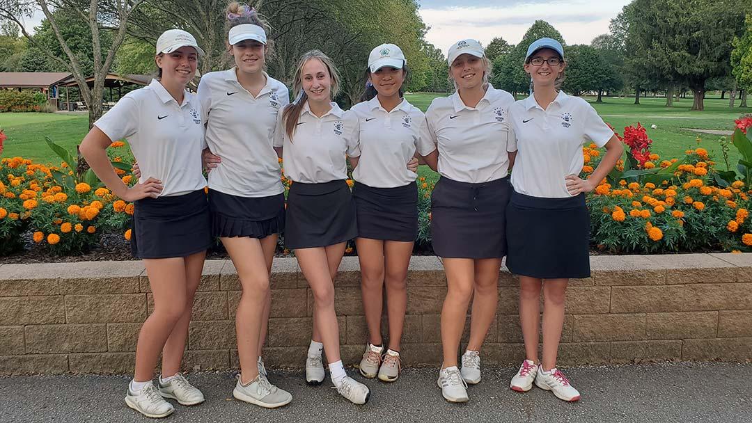 2021 Hudson Girls Golf Team