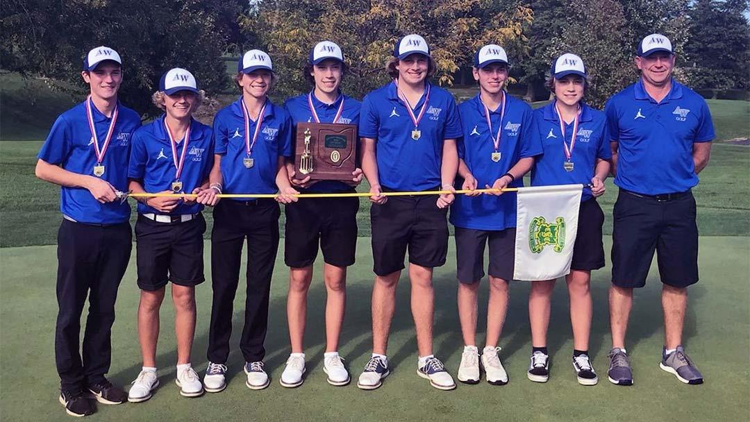 2021 Anthony Wayne Boys Golf Team, District Champions