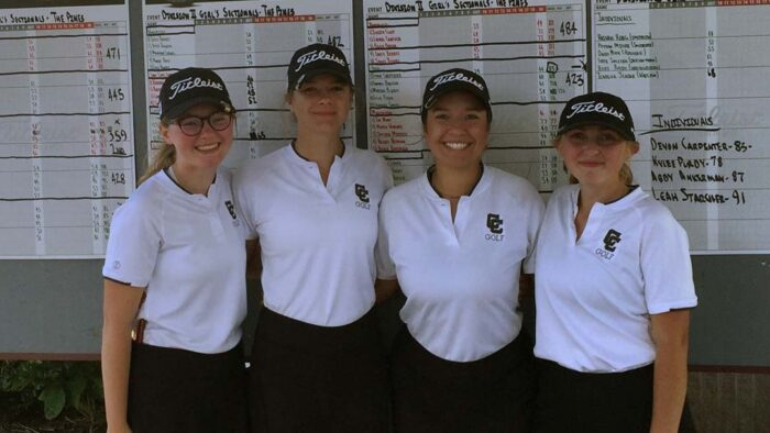 2021 Canton Central Catholic Girls Golf Team