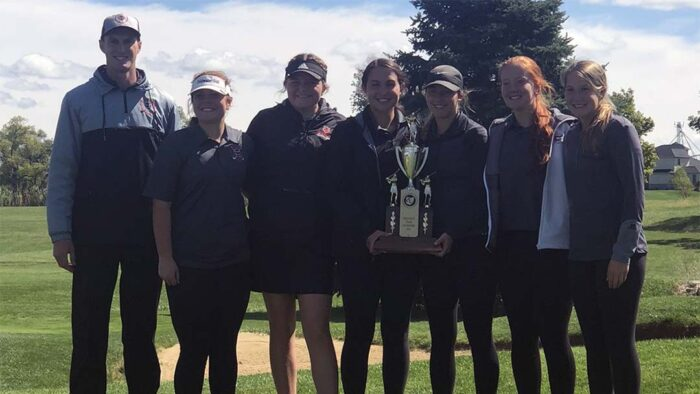 2021 Coldwater Girls Golf Team